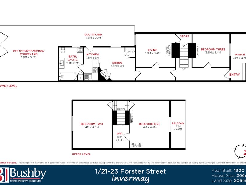 1/21-23 Forster Street, Invermay, Tas 7248 - floorplan