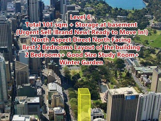 Lvl 6/130 Elizabeth Street (North Aspect! Both Bedrooms & Living room Direct Facing Hyde Park), Sydney, NSW 2000