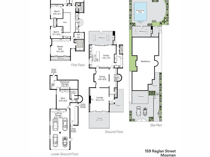 159 Raglan Street, Mosman, NSW 2088 - floorplan