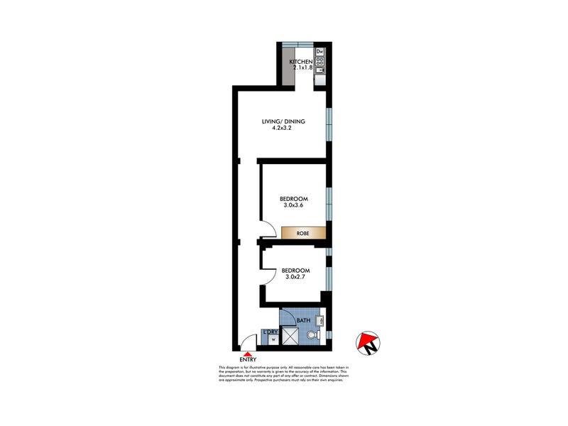 4/60 Ramsgate Avenue, Bondi Beach, NSW 2026 - floorplan