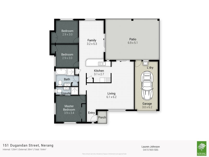 151 Dugandan Street, Nerang, Qld 4211 - floorplan