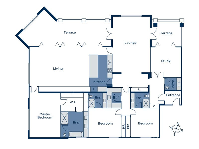 3/39 Carson Street, Kew, Vic 3101 - floorplan