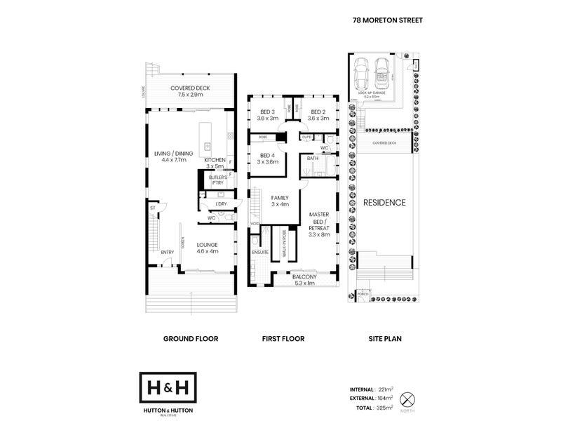 78 Moreton Street, New Farm, Qld 4005 - floorplan