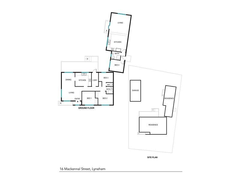 16 Mackennal Street, Lyneham, ACT 2602 - floorplan