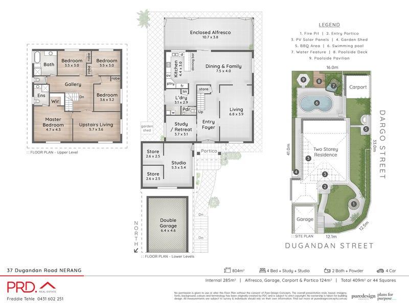 37 Dugandan Street, Nerang, Qld 4211 - floorplan