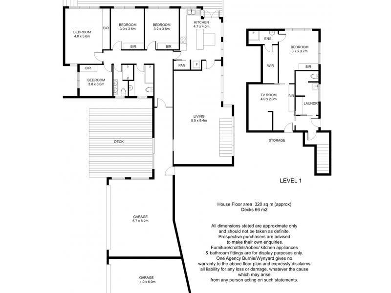 8 Harrison Street, Burnie, Tas 7320 - floorplan