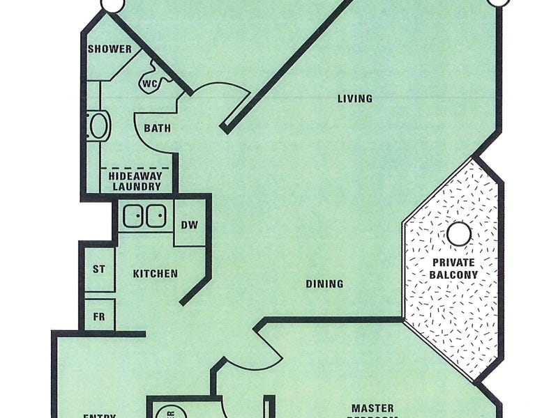 1402/333 Exhibition Street, Melbourne, Vic 3000 - floorplan