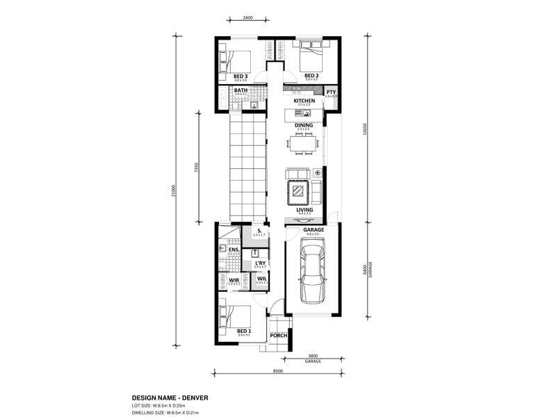 Lot 77 Dodson Road, Officer, Vic 3809 - floorplan