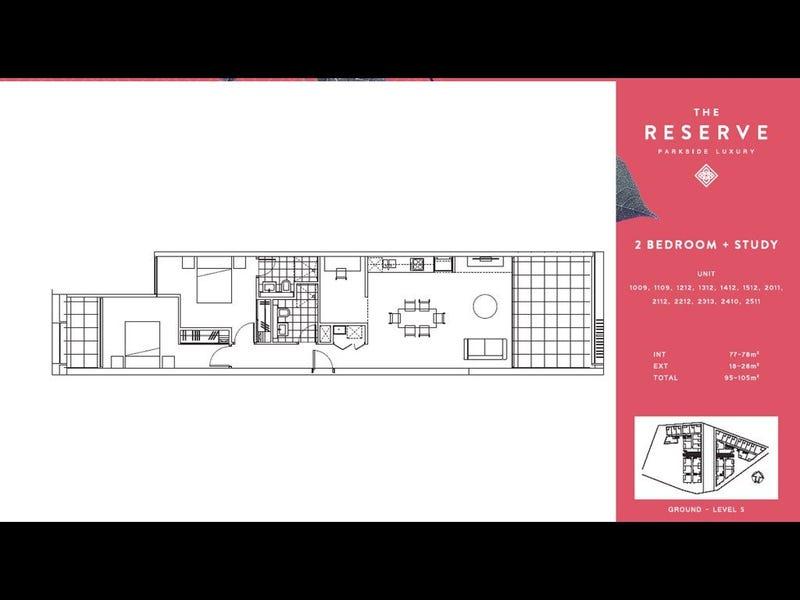 1412/8 Kingsborough Way, Zetland, NSW 2017 - floorplan