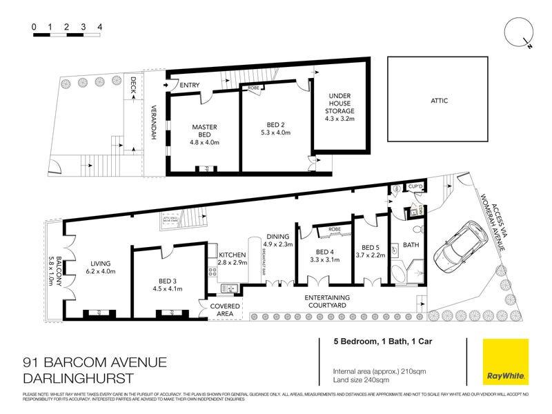 91 Barcom Avenue, Darlinghurst, NSW 2010 - floorplan