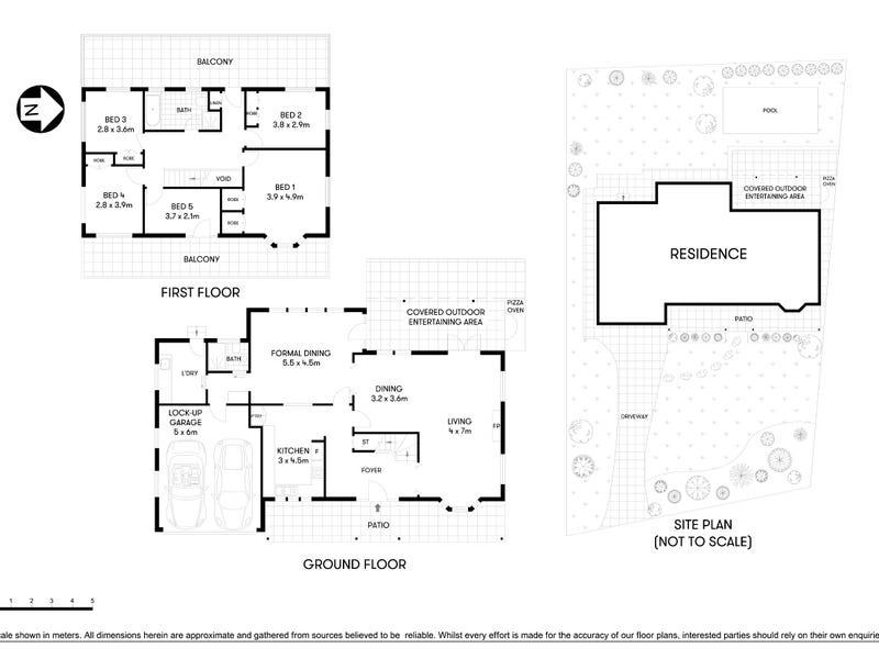 6 Louise Avenue, Chatswood, NSW 2067 - floorplan