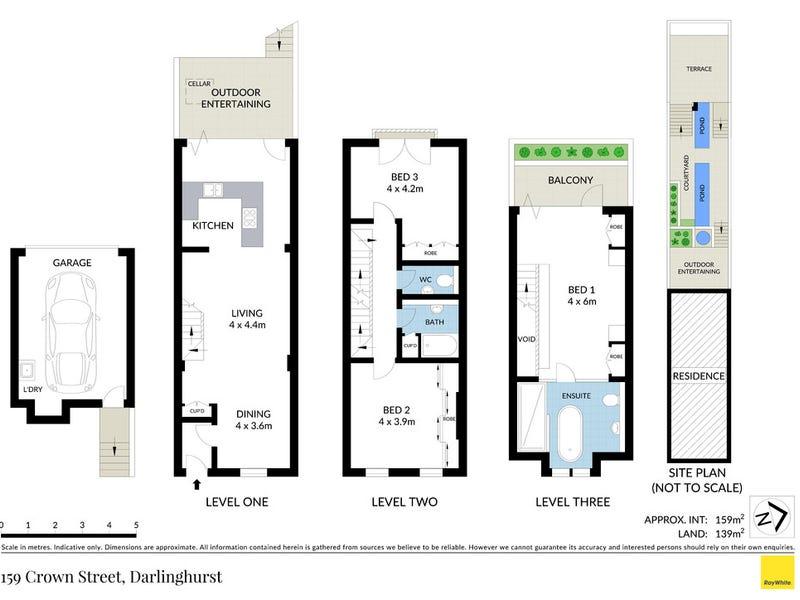 159 Crown Street, Darlinghurst, NSW 2010 - floorplan
