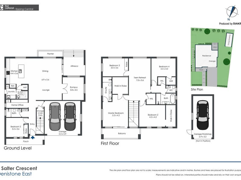 6 Salter Crescent, Denistone East, NSW 2112 - floorplan