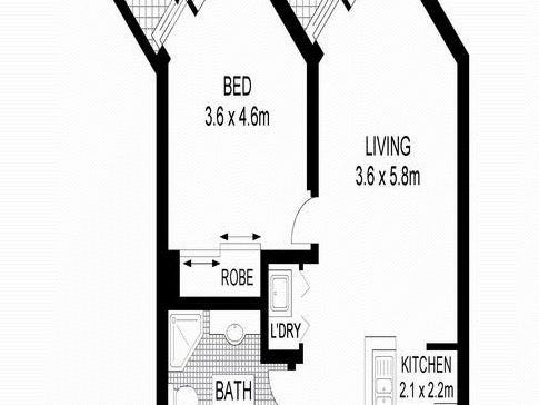 92/107 Quay Street, Sydney, NSW 2000 - floorplan