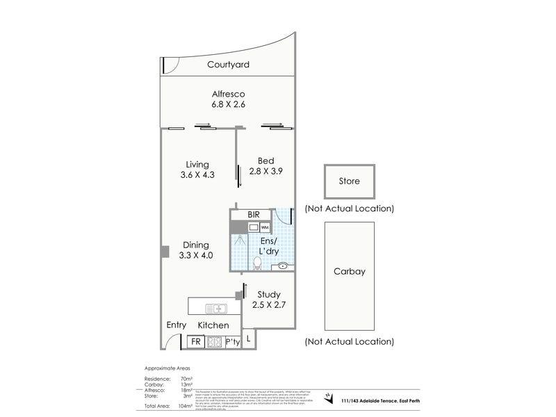 111/143 Adelaide Terrace, East Perth, WA 6004 - floorplan