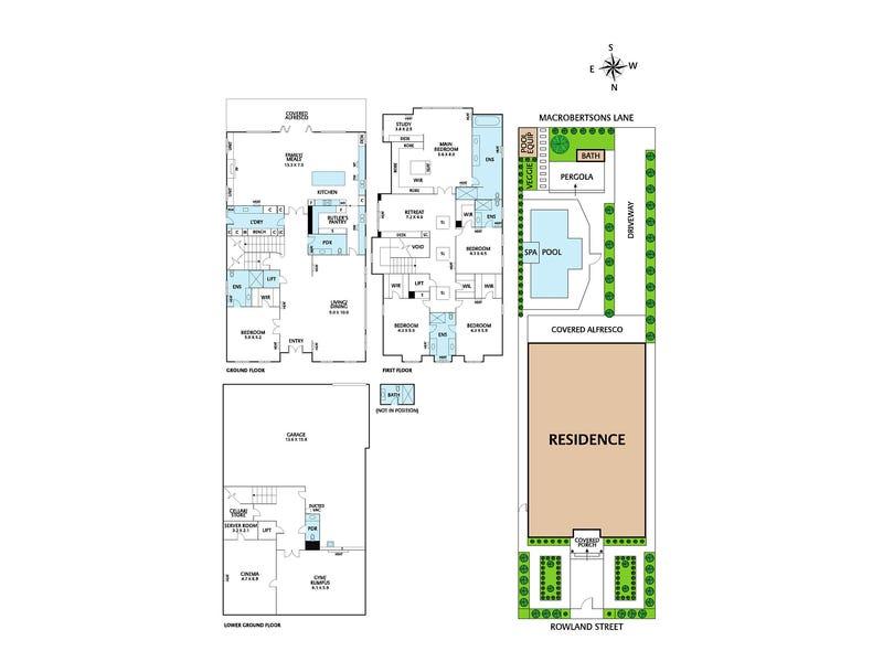 28 Rowland Street, Kew, Vic 3101 - floorplan