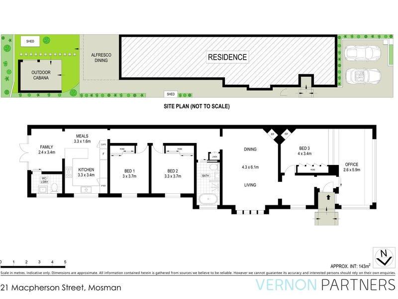 21 Macpherson Street, Mosman, NSW 2088 - floorplan
