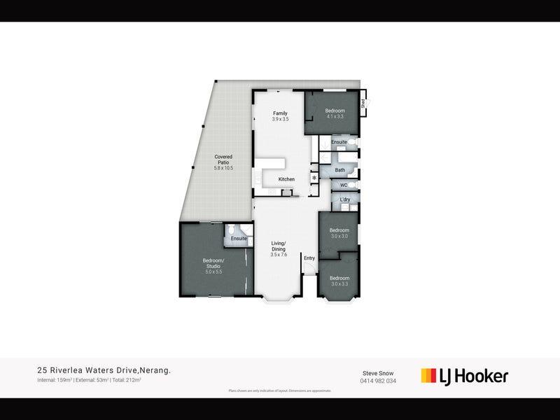 25 Riverlea Waters Drive, Nerang, Qld 4211 - floorplan