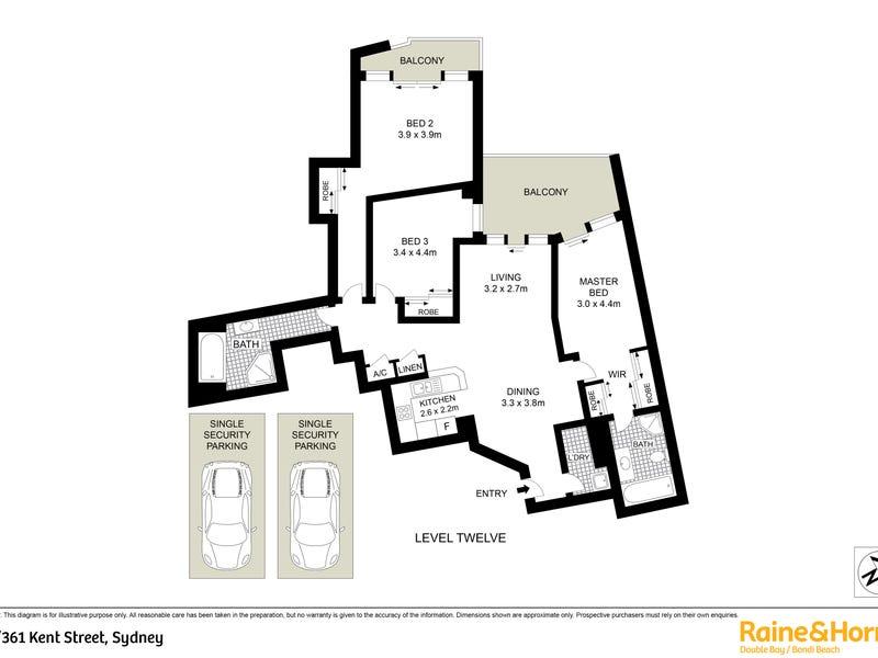 104/361-363 Kent Street, Sydney, NSW 2000 - floorplan