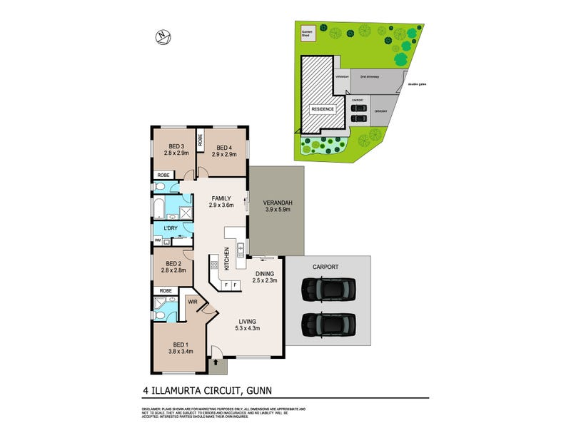 4 Illamurta Circuit, Gunn, NT 0832 - floorplan