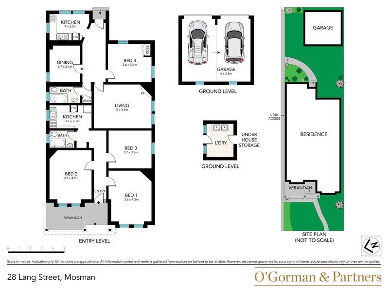 28 Lang Street, Mosman, NSW 2088 - floorplan
