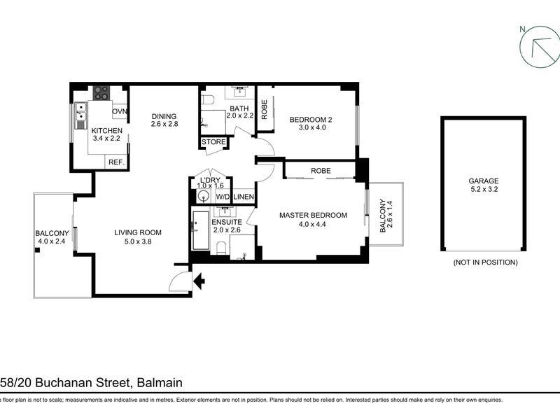 158/20 Buchanan Street, Balmain, NSW 2041 - floorplan