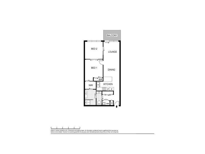 2105/68 La Trobe Street, Melbourne, Vic 3000 - floorplan