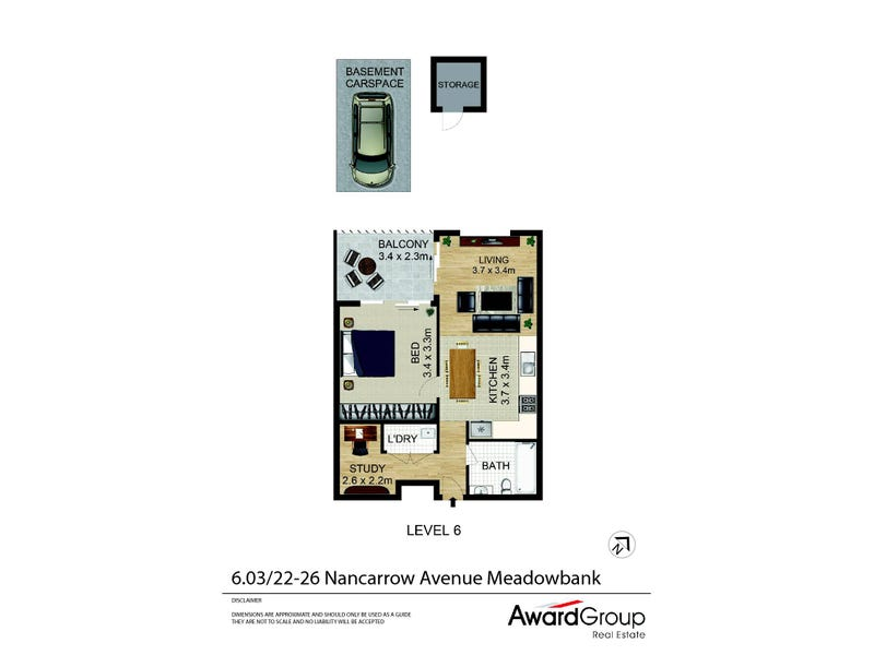 6.03/22-36 Nancarrow Avenue, Meadowbank, NSW 2114 - floorplan