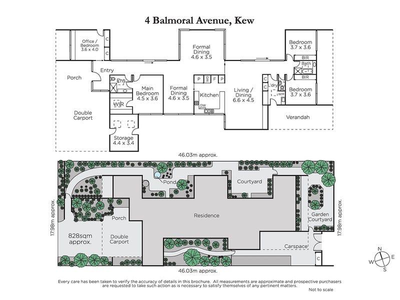 4 Balmoral Avenue, Kew, Vic 3101 - floorplan