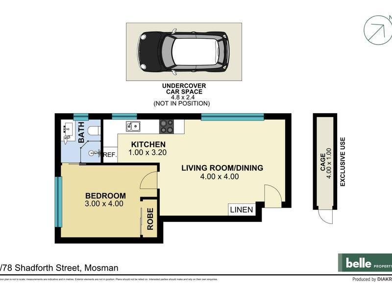 6/78 Shadforth Street, Mosman, NSW 2088 - floorplan