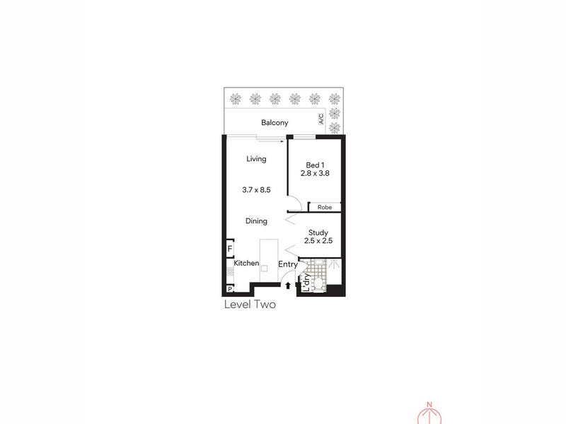 210/88 Vista Street, Mosman, NSW 2088 - floorplan