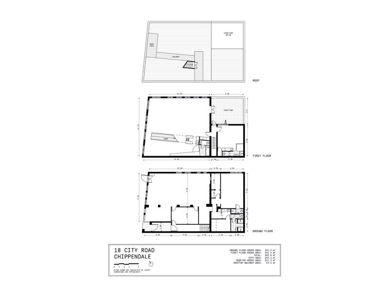 18 City Road, Chippendale, NSW 2008 - floorplan