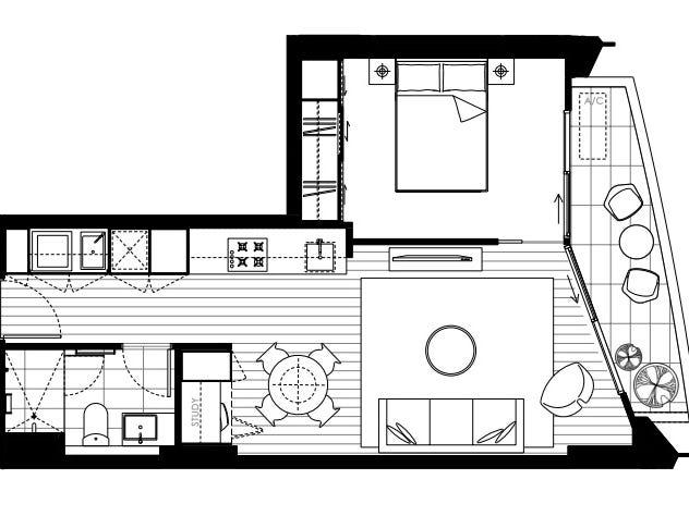 1005/118 High Street, Kew, Vic 3101 - floorplan