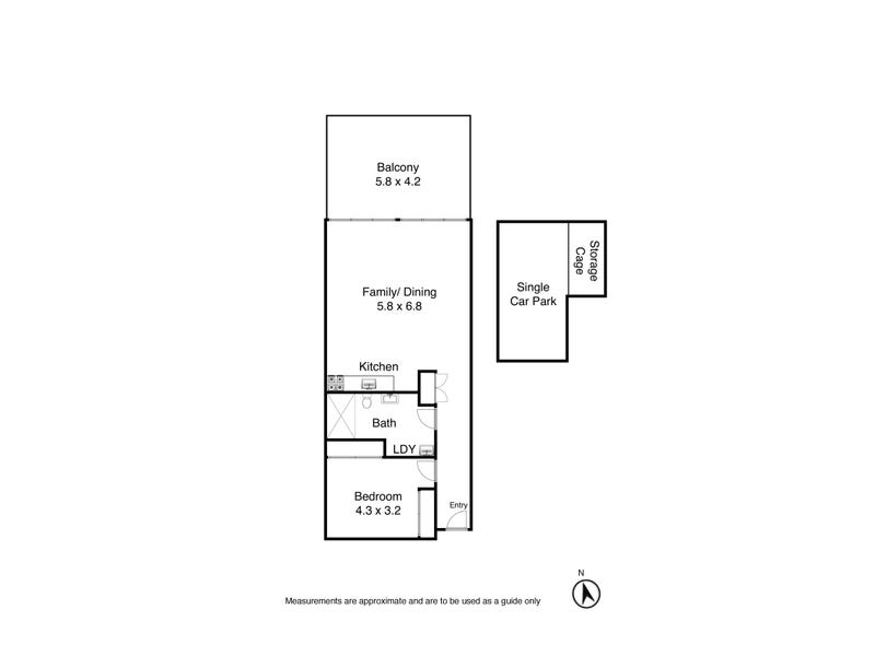 106/27 Throsby Street, Wickham, NSW 2293 - floorplan