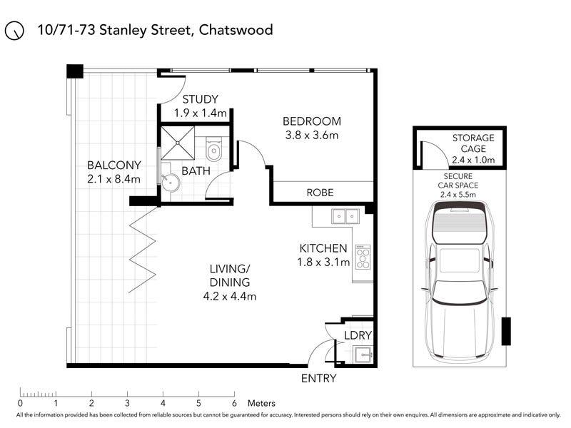 10/71-73 Stanley Street, Chatswood, NSW 2067 - floorplan