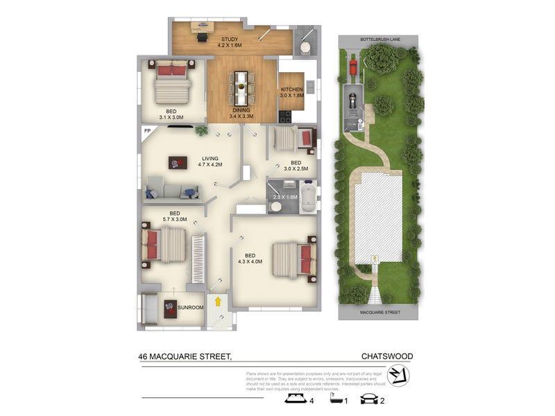 46 Macquarie Street, Chatswood, NSW 2067 - floorplan
