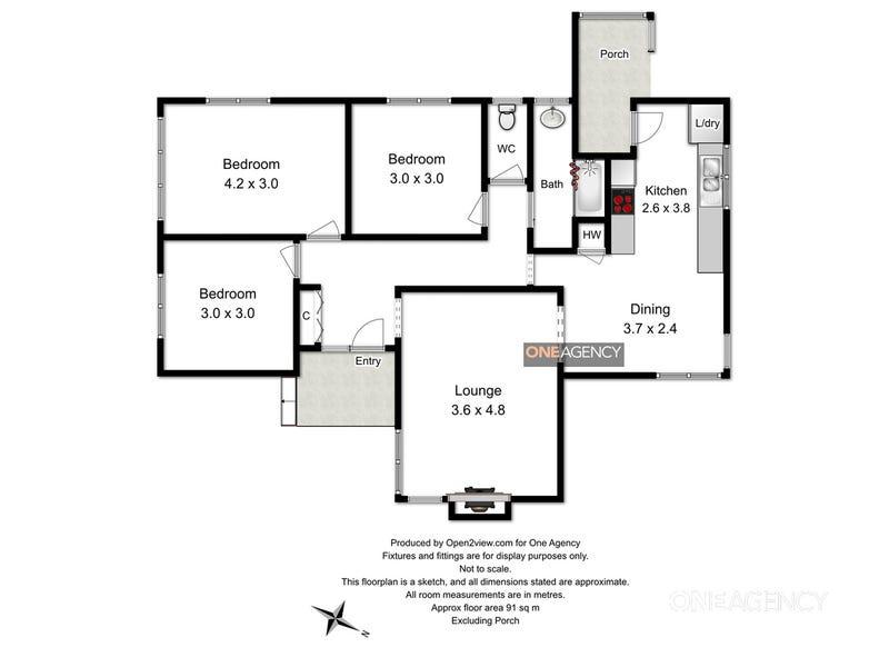 4 Hanson Court, Smithton, Tas 7330 - floorplan