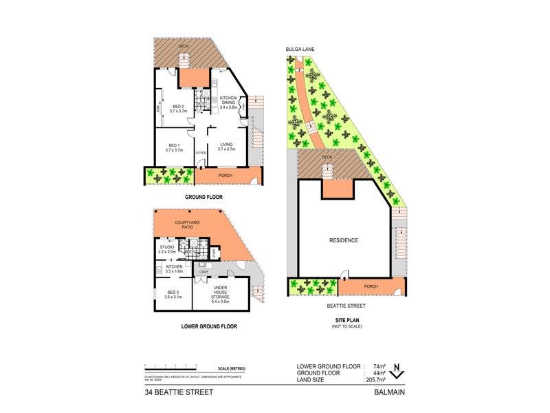 34 Beattie Street, Balmain, NSW 2041 - floorplan