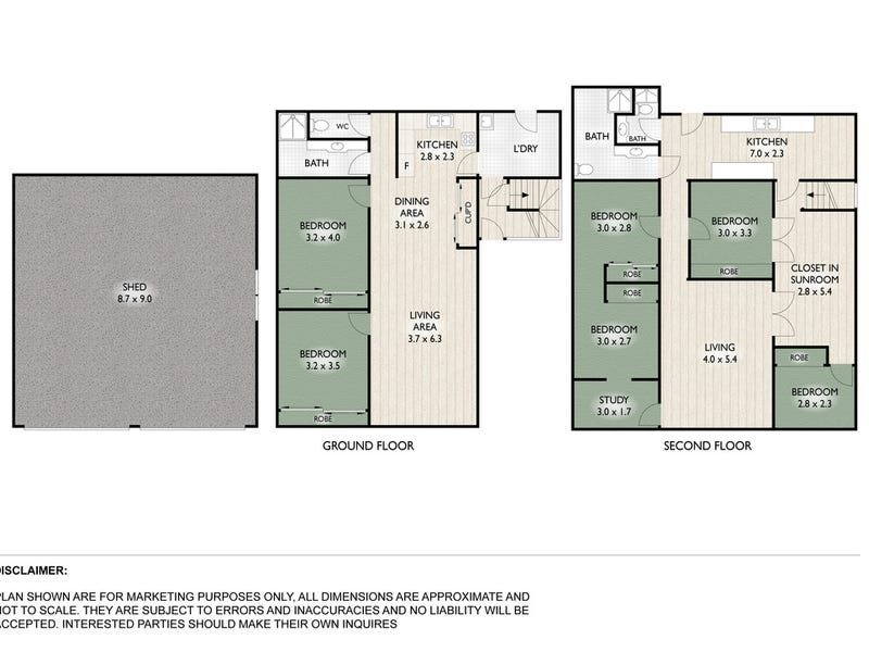 50 Bowen Street, Windsor, Qld 4030 - floorplan