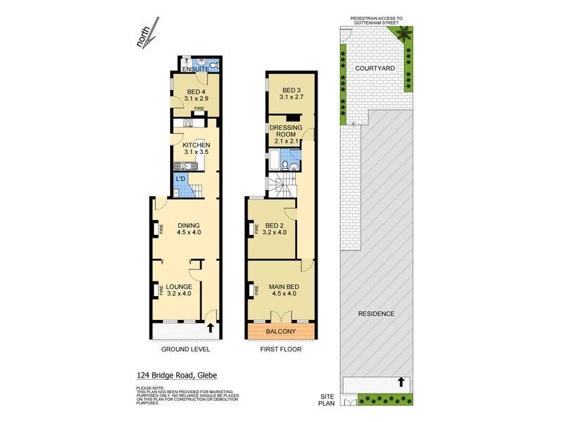 124 Bridge Road, Glebe, NSW 2037 - floorplan