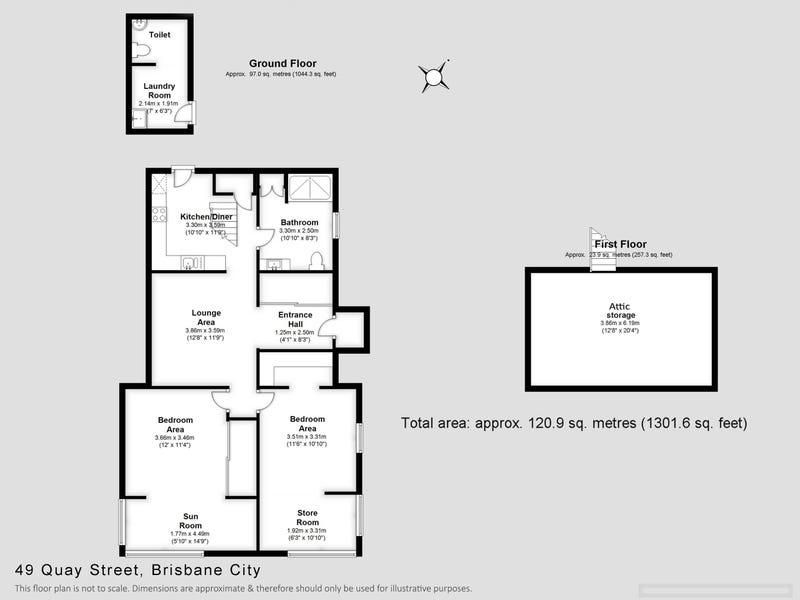 49 Quay Street, Brisbane City, Qld 4000 - floorplan