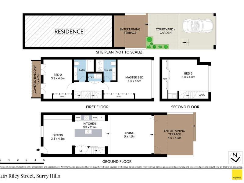 467 Riley Street, Surry Hills, NSW 2010 - floorplan