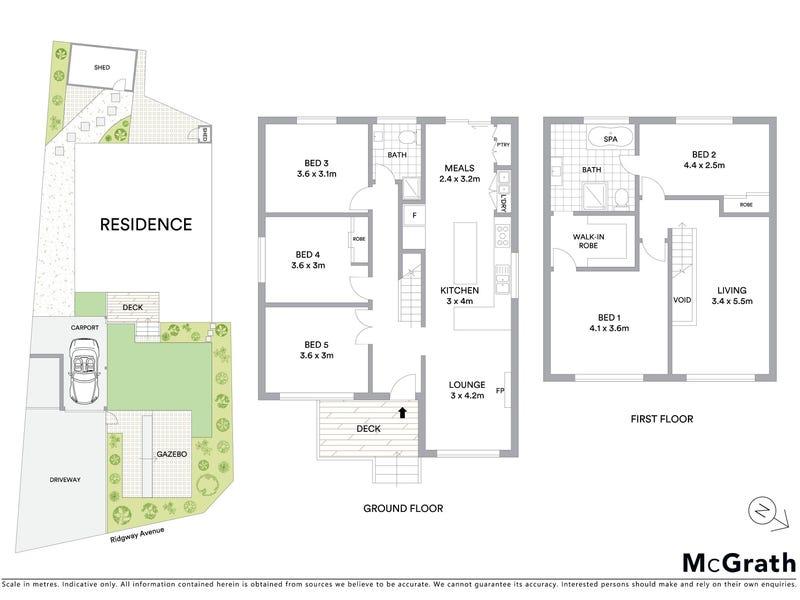 3 Ridgway Avenue, Croydon, Vic 3136 - floorplan