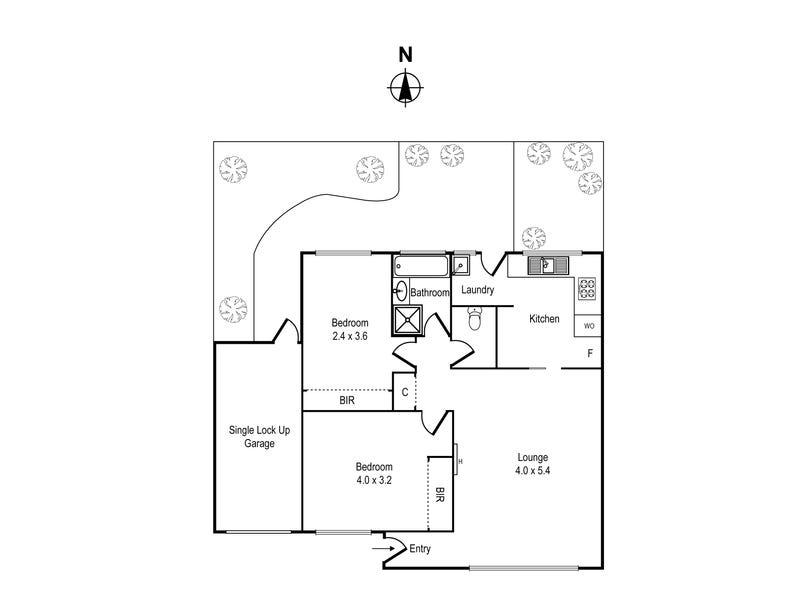 3/233 Warrigal Road, Cheltenham, Vic 3192 - floorplan