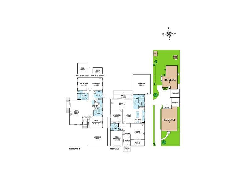 1 & 2/27 Grandview Terrace, Kew, Vic 3101 - floorplan