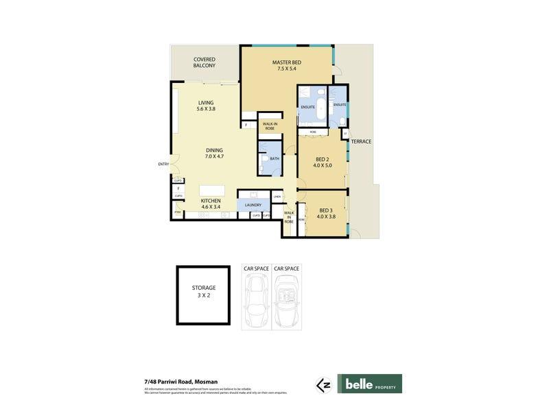 7/48 Parriwi Road, Mosman, NSW 2088 - floorplan