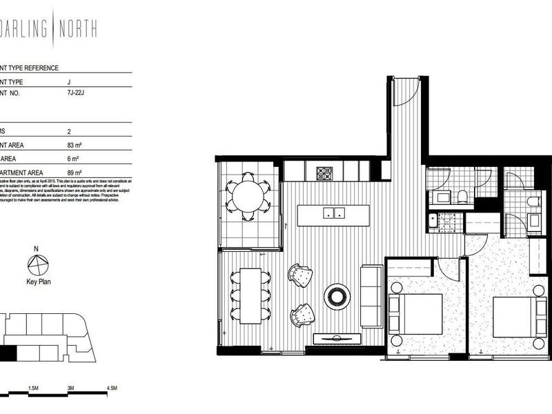 Level 22/81 Harbour St, Sydney, NSW 2000 - floorplan