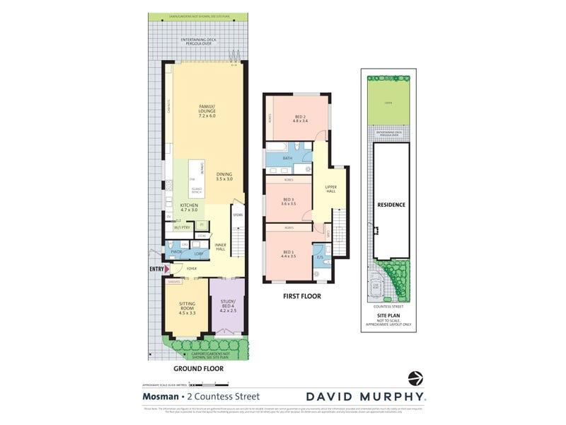2 Countess Street, Mosman, NSW 2088 - floorplan