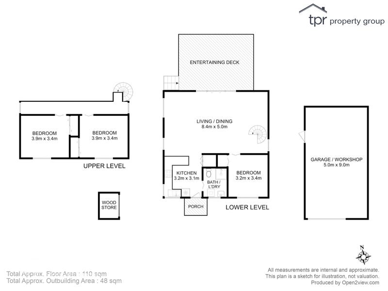18 Charlotte Cove Road, Charlotte Cove, Tas 7112 - floorplan