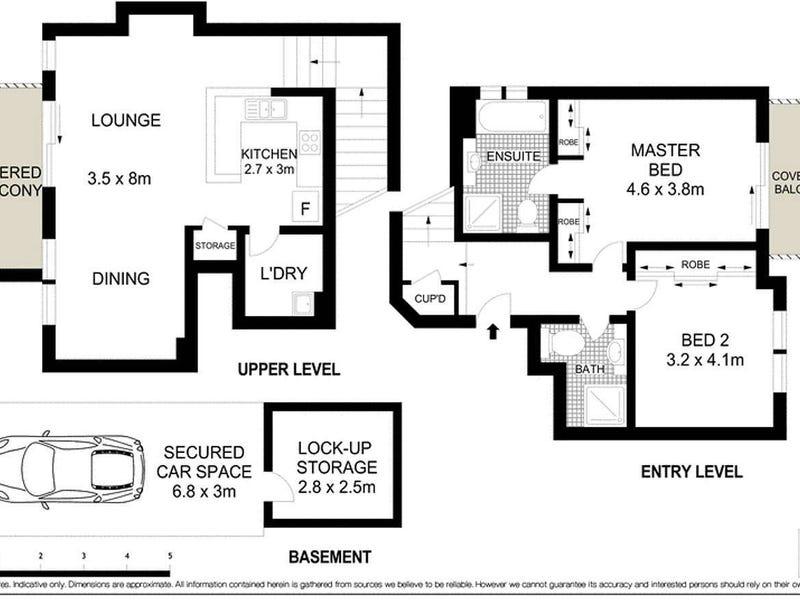 6/3 Rosebery Place, Balmain, NSW 2041 - floorplan
